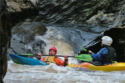 Scottish paddling with Castle Canoe Club